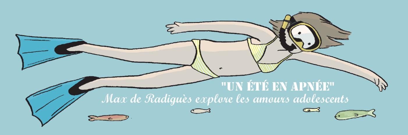 Max de Radiguès explore les amours adolescents dans «520 km» et «Un été en apnée»