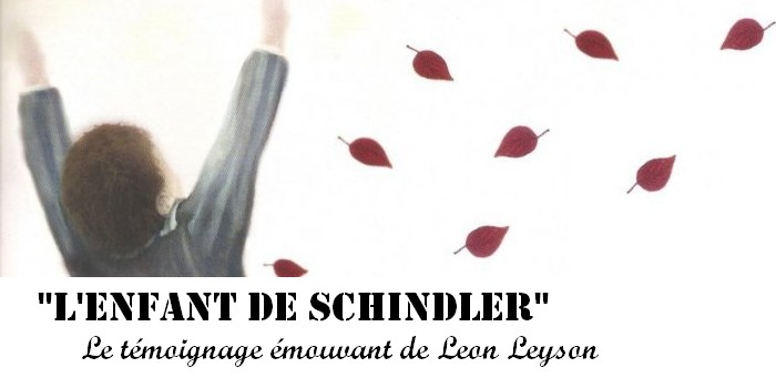 «L'enfant de Schindler» : le témoignage émouvant de Leon Leyson