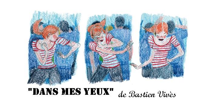 """""""Dans mes yeux"""" : Bastien Vivès place le lecteur dans les yeux du narrateur"""