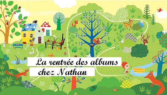 La rentrée des albums jeunesse chez Nathan