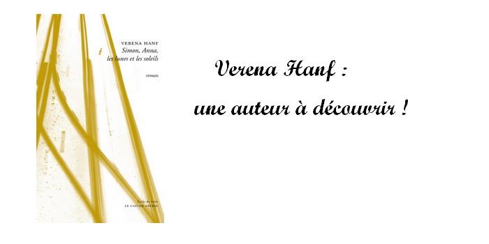 """""""Simon, Anna, les lunes et les soleils"""" de Verena Hanf : un beau roman sur la résilience"""