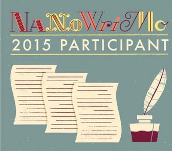 NaNoWriMo 2015 : le point après une semaine
