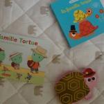 Les livres de bébé lecteur : la battle de la famille tortue !