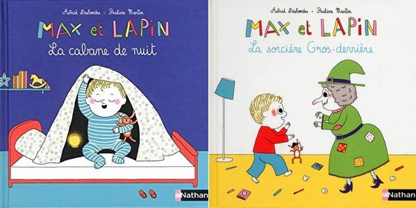 Les livres de bébé lecteur : Max et lapin