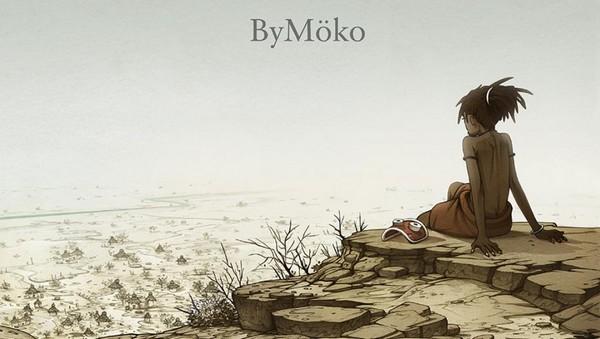 Au pied de la falaise – ByMöko