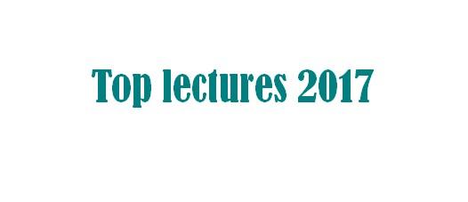 Bilan lectures 2017