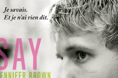 Say Something – Jennifer Brown